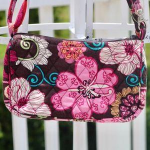 Mod Floral Pink Vera Bradley Small CrossBody Purse